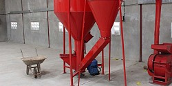 Milling equipment in feed mill