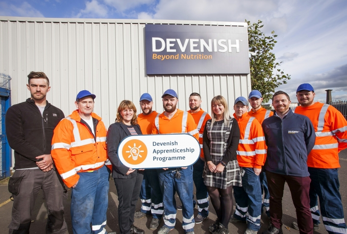 Devenish launches new team leading apprenticeship programme aimed at helping employees fulfil their potential
