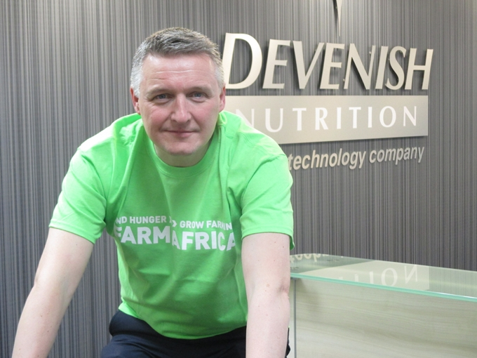 Farm Africa congratulates Devenish on long-distance fundraising relay success